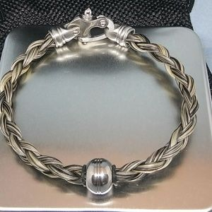 Jewelry - Nautical Horsehair Bracelet for Men